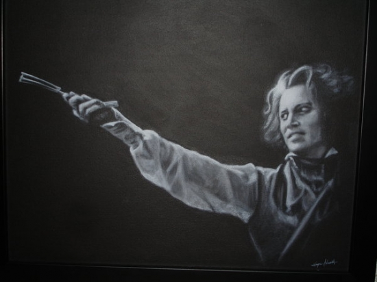 Johnny Depp by Evarcha